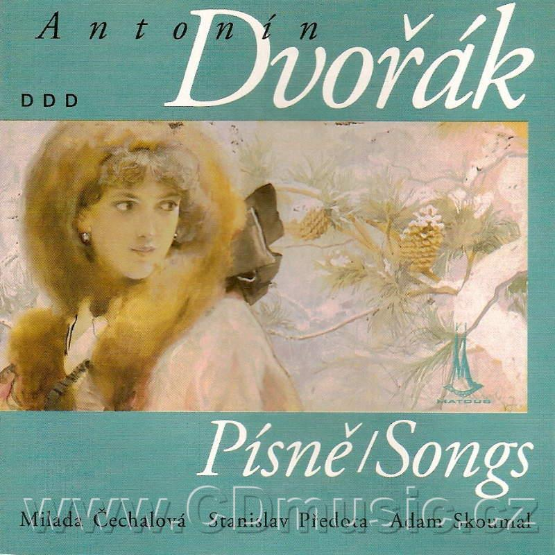 DVOŘÁK A. SONGS (Evening Songs, The Orphan, Rosemary, Three Modern Greek Poems) / M.Čechal