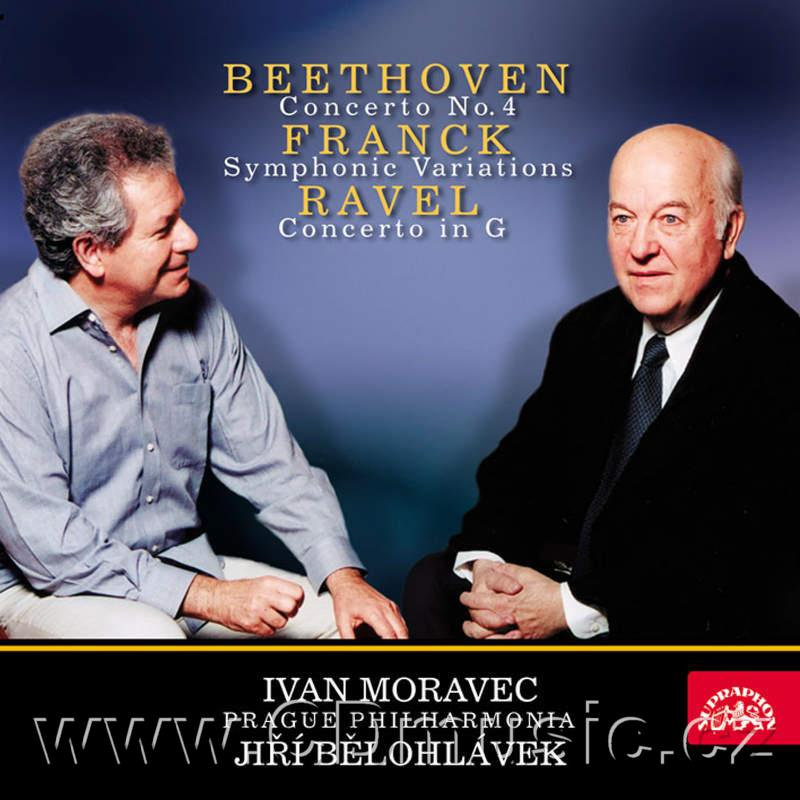 BEETHOVEN L.v. CONCERTO FOR PIANO AND ORCHESTRA No.4 Op.54, FRANCK C. SYMPHONIC VARIATIONS