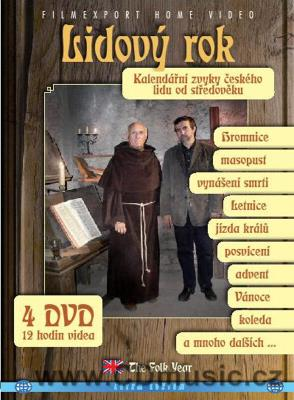 Lidový rok / The Folk Year ČR, 2008, 297min. 4DVD set Subtitles: English, Czech.