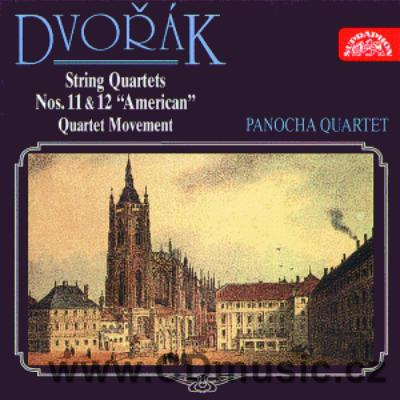 DVOŘÁK A. STRING QUARTETS No.11 Op.61, No.12 American Op.96, QUARTET MOVEMENT/ Panocha Q.