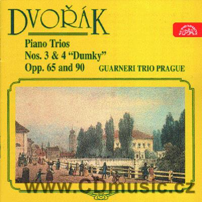 DVOŘÁK A. PIANO TRIO No.3 Op.65, PIANO TRIO DUMKY No.4 Op.90 / Guarneri Trio Prague