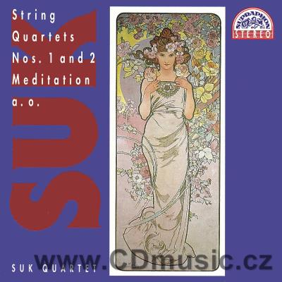 SUK J. STRING QUARTETS Nos.1,2, MEDITATION ON THE OLD CZECH CHORALE ST.WENCESLAS Op.35a, Q