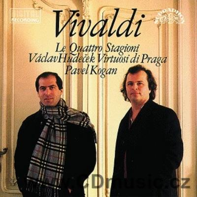 VIVALDI A. THE FOUR SEASONS/LE QUATTRO STAGIONI / V.Hudeček violin / Virtuosi di Praga / P