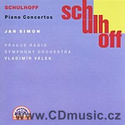 SCHULHOFF E. CONCERTO FOR PIANO AND SMALL ORCHESTRA, CONCERTO FOR PIANO AND ORCH.