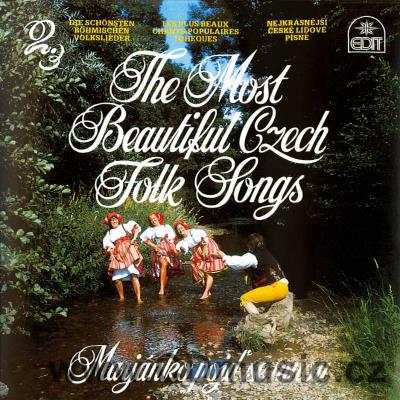 THE MOST BEAUTIFUL CZECH FOLK SONGS Vol.2. - MARJÁNKO, POJĎ SE MNOU / J.Bárta, J.Kopřivová