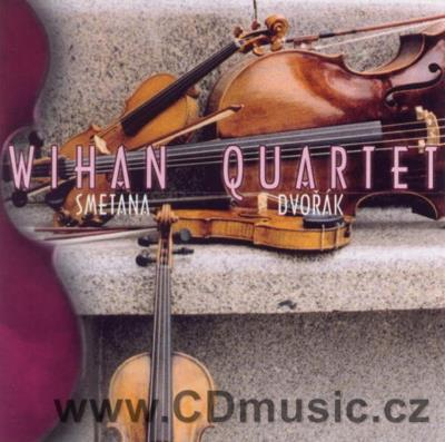 SMETANA B. STRING QUARTET No.1 FROM MY LIFE, DVOŘÁK A. STRING QUINTET Op.97/ Wihan Quartet
