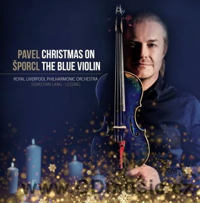 ŠPORCL P. CHRISTMAS ON THE BLUE VIOLIN (2017)