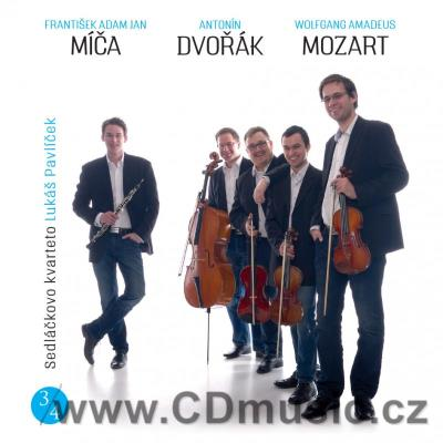 MÍČA F.A. QUARTET FOR OBOE, VIOLIN, VIOLA AND CELLO, DVOŘÁK A. STRING QUARTET No.13 Op.106