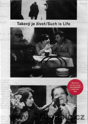 Takový je život / Such is Life ČR, 1929, 63min. (digitally restored film 2017) (2DVD)
