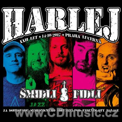 HARLEJ - ŠMIDLI FIDLI (2018) (CD/DVD BOX)