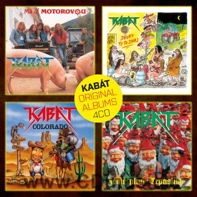 KABÁT - ORIGINAL ALBUMS 4CD VOL.1 (2016) (4CD BOX)
