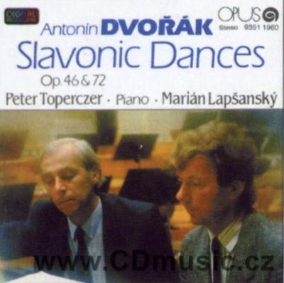 DVOŘÁK A. SLAVONIC DANCES (version for two pianos) / P.Toperczer, M.Lapšanský pianos