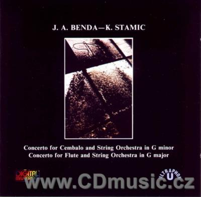 BENDA J.A. CONCERTO FOR HARPSICHOD, STAMIC K. CONCERTO FOR FLUTE / A.Cattarino, V.Brunner