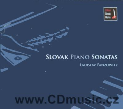 SLOVAK PIANO SONATAS / L.Fanzowitz (CD+DVD)