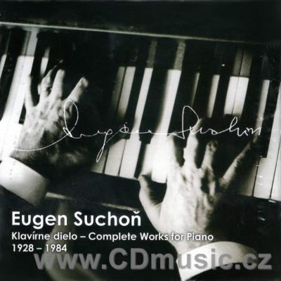 SUCHOŇ E. (1908-1993) COMPLETE PIANO WORKS (4CD)
