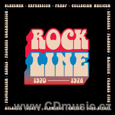 ROCK LINE 1970-1974 - CZECH AND SLOVAK BANDS FROM SUPRAPHON ARCHIVES