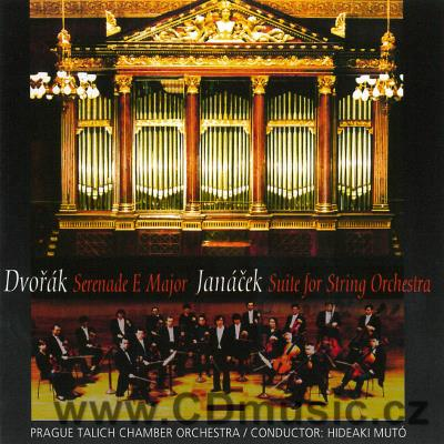 DVOŘÁK A. SERENADE FOR STRINGS IN E MAJOR Op.22, JANÁČEK L. SUITE FOR ORCHESTRA