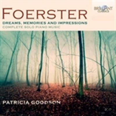 FOERSTER J.B. (1859-1951) COMPLETE SOLO PIANO MUSIC / P.Goodson piano