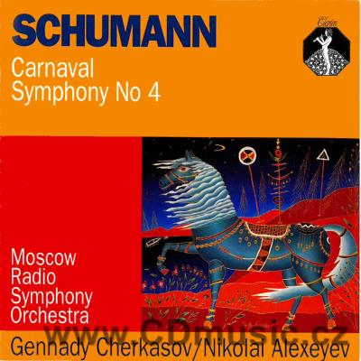 SCHUMANN R. CARNAVAL Op.45, SYMPHONY No.4 Op.120 / Moscow Radio Symphony Orchestra / G.Che