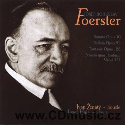 FOERSTER J.B. WORKS FOR VIOLIN AND PIANO + BONUS CD: SVATÝ VÁCLAV cantata