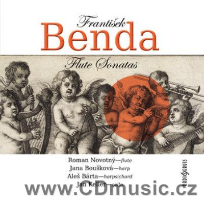 BENDA F. SONATAS FOR FLUTE AND HARP, SONATAS FOR FLUTE, HARPSICHORD AND CELLO / R.Novotný