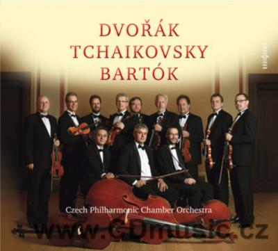 DVOŘÁK A. SERENADE FOR STRINGS IN E MAJOR Op.22, TCHAIKOVSKY P.I. SERENADE IN C MAJOR Op.4