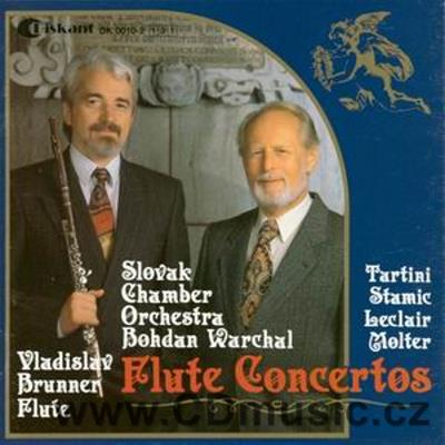 Flute Concertos (Tartini Concerto for Flute, Strings and Continuo in G maj, Stamitz C. Con