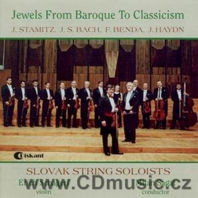 STAMIC J.V. Sinfonia for String Orchestra No.1, BACH J.S. Violin Concerto No.2 BWV 1042, B