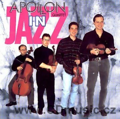APOLLON QUARTET IN JAZZ / M.Válek, R.Křižanovský violin, V.Kroupa viola, P.Verner cello