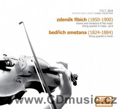 FIBICH Z. THEMA AND VARIATIONS FOR STRING QUARTET, SMETANA B. STRING QUARTET No.2