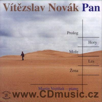 NOVÁK V. (1870-1949) PIANO WORKS Vol.3 (PAN - TONE POEM Op.43, BALLADE Op.2, ECLOGUES Op.1