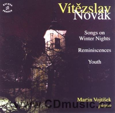 NOVÁK V. (1870-1949) PIANO WORKS Vol.1 (SONGS ON WINTER NIGHTS Op.30, REMINISCENCES Op.6,