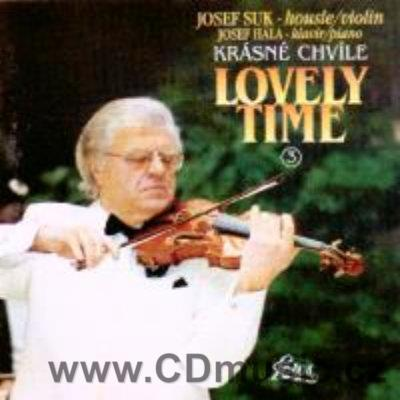 LOVELY TIME Vol.3. / J.Suk violin, J.Hála piano (last available copies)