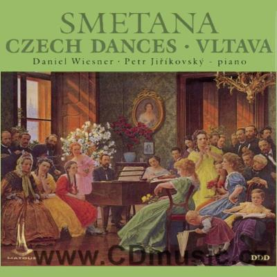 SMETANA B. VLTAVA (for piano for four hands arranged by the composer), CZECH DANCES