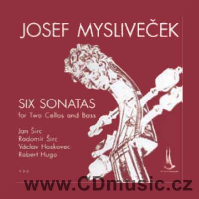 MYSLIVEČEK J. (1737-1781) SIX SONATAS FOR TWO CELLOS AND BASS / J.Širc, R.Širc, V.Hoskovec