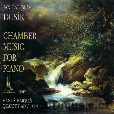 DUSÍK J.L. (1760-1812) CHAMBER MUSIC FOR PIANO / H.Bartoň piano, Apollon Quartet