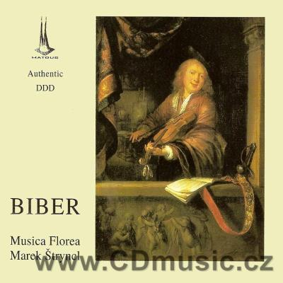 BIBER H.I. (1644-1704) VOCAL AND INSTRUMENTAL WORKS / Musica Florea / M.Štryncl