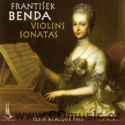 BENDA F. (1709-1786) SONATAS FOR VIOLIN AND BASSO CONTINUO / Czech Baroque Trio