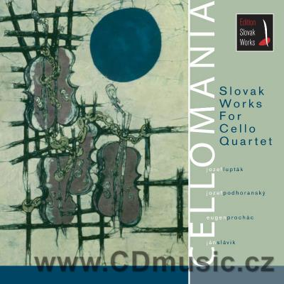 CELLOMANIA - SLOVAK WORKS FOR CELLO QUARTET