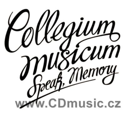 COLLEGIUM MUSICUM - SPEAK, MEMORY (CD+DVD) (2010)