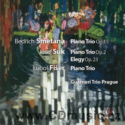 SMETANA B. PIANO TRIO Op.15, SUK J. PIANO TRIO Op.2, FIŠER L. PIANO TRIO (1978) / Guarneri