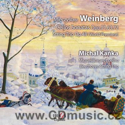 WEINBERG M. (1819-1996) CELLO SONATAS, STRING TRIO / M.Kaňka cello, M.B.Coelho...