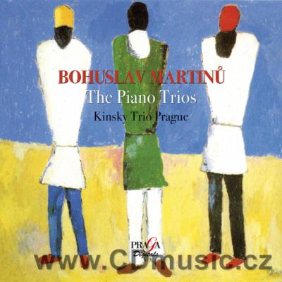MARTINŮ B. PIANO TRIO No.2 H. 327, BERGERETTES FOR PIANO TRIO H. 275, PIANO TRIO No.3 H. 3