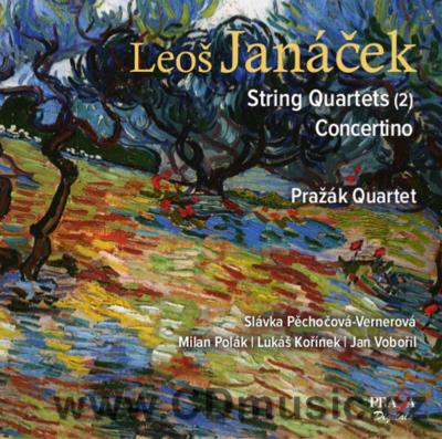 JANÁČEK L. STRING QUARTET No.1 INSPIRED BY TOLSTOY'S KREUTZER SONATA, PIANO CONCERTINO...