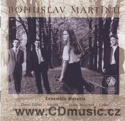 MARTINŮ B. THREE CZECH DANCES FOR PIANO, SONATINA FOR CLARINET AND PIANO, IMPROMTU...