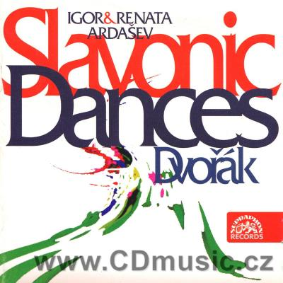 DVOŘÁK A. SLAVONIC DANCES Op.46, Op.72 (version for two pianos) / I.Ardašev, R.Ardaševová