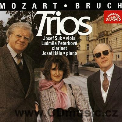 BRUCH M., MOZART W.A. TRIOS FOR CLARINET, VIOLA AND PIANO / L.Peterková, J.Suk, J.Hála