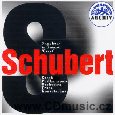 SCHUBERT F. SYMPHONY No.9 IN C MAJOR - GREAT / CPO / F.Konwitschny (1962)
