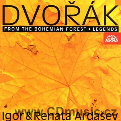 DVOŘÁK A. COMPOSITIONS FOR PIANO DUET / R. and I.Ardašev pianos