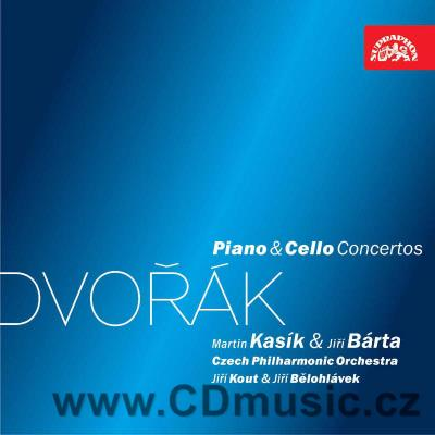 DVOŘÁK A. CONCERTO FOR PIANO AND ORCHESTRA Op.33, CONCERTO FOR CELLO AND ORCHESTRA Op.104